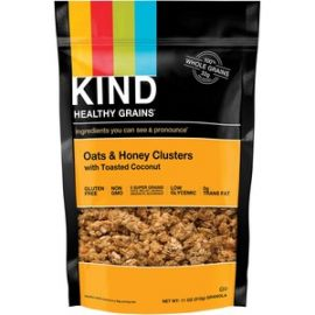 Healthy Grains Oats/Honey Clusters Snack