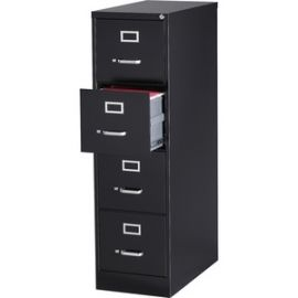 Fortress Series 28.5'' Letter-size Vertical Files - 4-Drawer