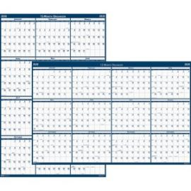 2-sided Laminated Wall Planner