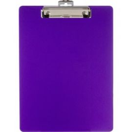 Low-profile Clip Plastic Clipboard