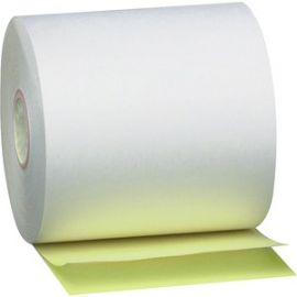2-ply White Canary Cash Register Rolls