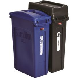 Slim Jim 2-container Recycling Set