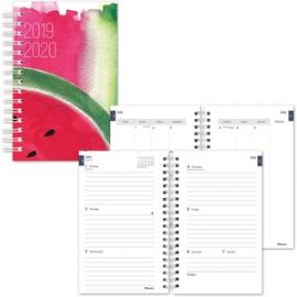 Weekly/Monthly Academic Planner - Watermelon Design