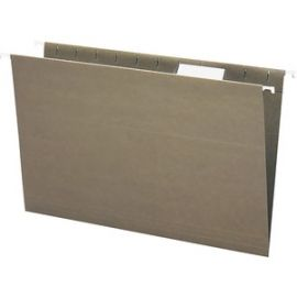 100% Recycled Hanging File Folders with Tab