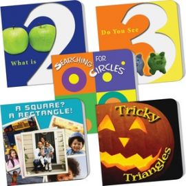 PreK Counting/Math 5-book Set