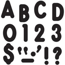 "7"" Billboard Uppercase Ready Letters"