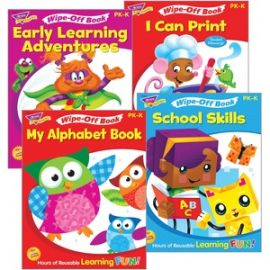 Early Learning Wipe-Off Book Set