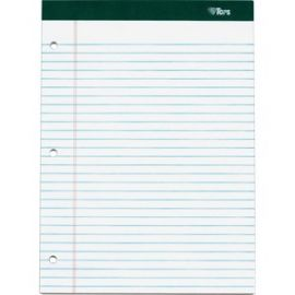 Double Docket Ruled Writing Pads - Letter