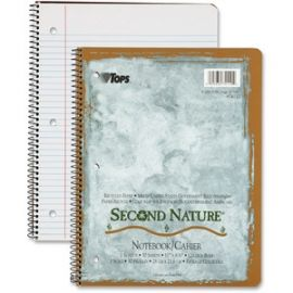 College - ruled Second Nature Notebook - Letter