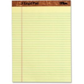 Narrow Rule Letter Size Perforated Pads - Letter