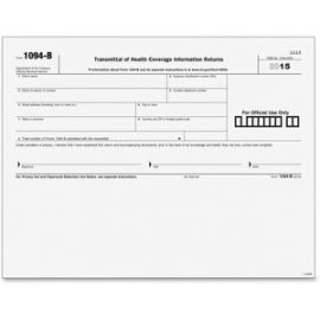 1094B Transmittal Tax Form
