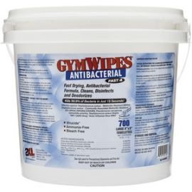 GymWipes Dispensing Antibacterial Towelettes