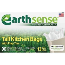 Earth Sense 13-gal Tall Kitchen Bags
