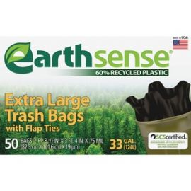 Earth Sense 33-gal Extra Large Trash Bags