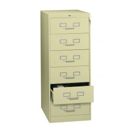 "21"" Wide 6-Drawer Card File"