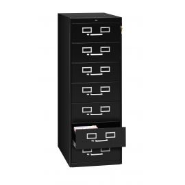 "19"" Wide 7-Drawer Card File"