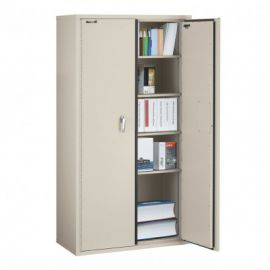 Fire Resistant Double door storage cabinet 72 ICF7240 FTN Tan