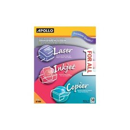 Apollo Inkjet, Laser Print Transparency Film
