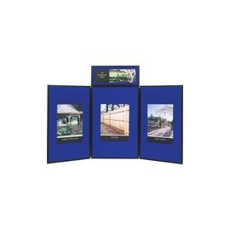 Quartet Show-It! 3-sided Display System