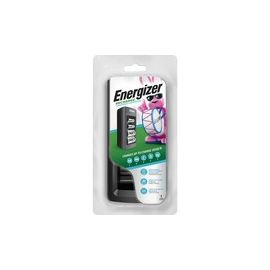 Energizer Recharge Universal Charger for NiMH Rechargeable AA, AAA, C, D, and 9V Batteries