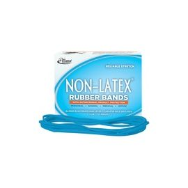Alliance Rubber 42179 Non-Latex Rubber Bands with Antimicrobial Protection - Size #117B