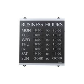 HeadLine Century Business Hours Sign