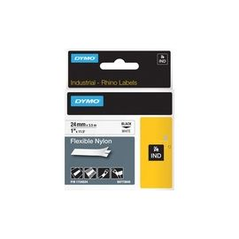 "Dymo 1"" Flexible Nylon Rhino Label Tape"