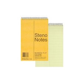Rediform Wirebound Steno Notebook