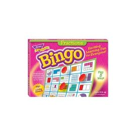 Trend Fractions Bingo Game