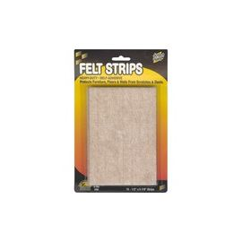 Master Mfg. Co Scratch Guard® Felt Strips, Self-adhesive