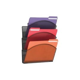 Safco Onyx Mesh Wall Pockets