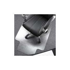 Cleartex Ultimat Low/Medium Pile Carpet Chairmat w/Lip