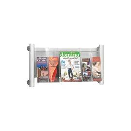 Safco Elegant Luxe Magazine Wall Rack