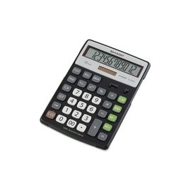 Sharp Calculators EL-R297BBK 12-Digit Extra Large Desktop Calculator