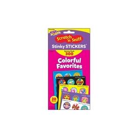 Trend Colorful Favorites Stinky Stickers Pack
