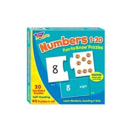 "Trend Fun-to-Know 3"" Numbers Puzzles"