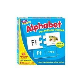 Trend Alphabet Fun-to-Know Puzzles