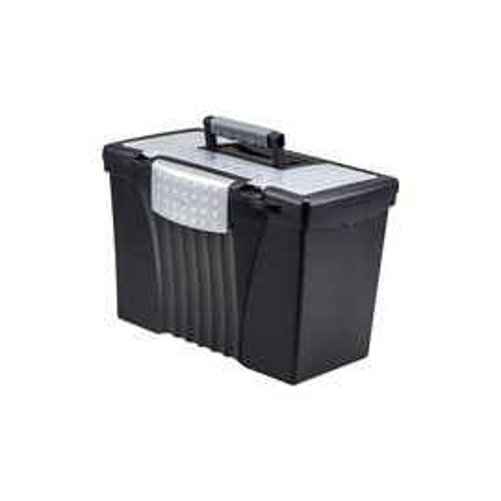 Storex Portable File Storage Box