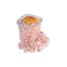 Office Snax Peppermint Puff Candies Tub