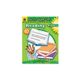 Teacher Created Resources Warm-up Grade 4 Reading Rook Printed Book