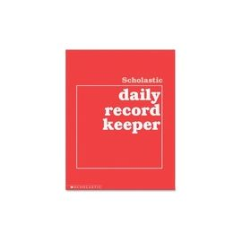 Scholastic Res. Grades K-6 Daily Record Keeper