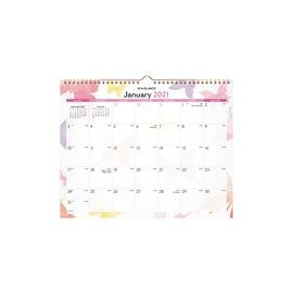At-A-Glance Watercolors Monthly Wall Calendar