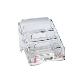OIC 4-tier BCA Business Card Holder