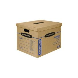 Fellowes Bankers Box SmoothMove Classic Moving Boxes, Medium