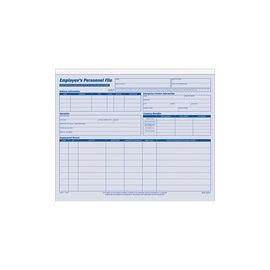 Adams Employee Personnel File Folder