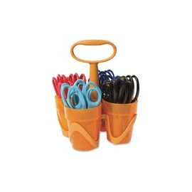 "Fiskars 5"" Kids Scissors Classpack Caddy"