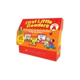 Scholastic Res. Level A 1st Little Readers Book Set Printed Book by Deborah Schecter