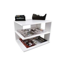 Victor W1120 Pure White Corner Shelf