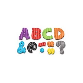 """Teacher Created Resources Chevron 3"""" Magnetic Letters"""