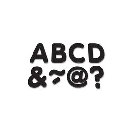 "Teacher Created Resources Black 2"" Magnetic Letters"